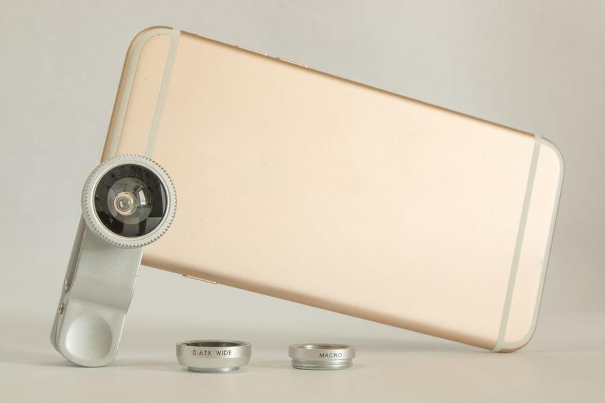 Obiettivo per smartphone