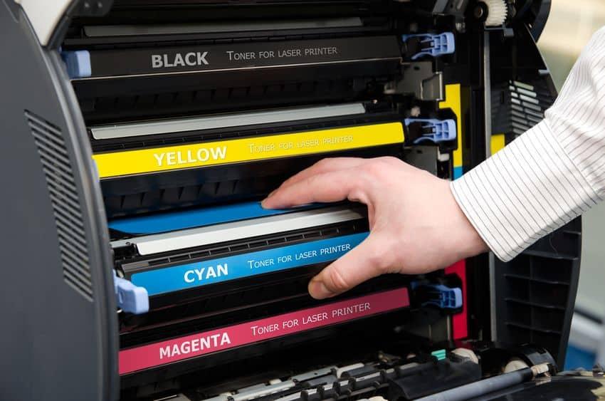 Toner per stampante a colori