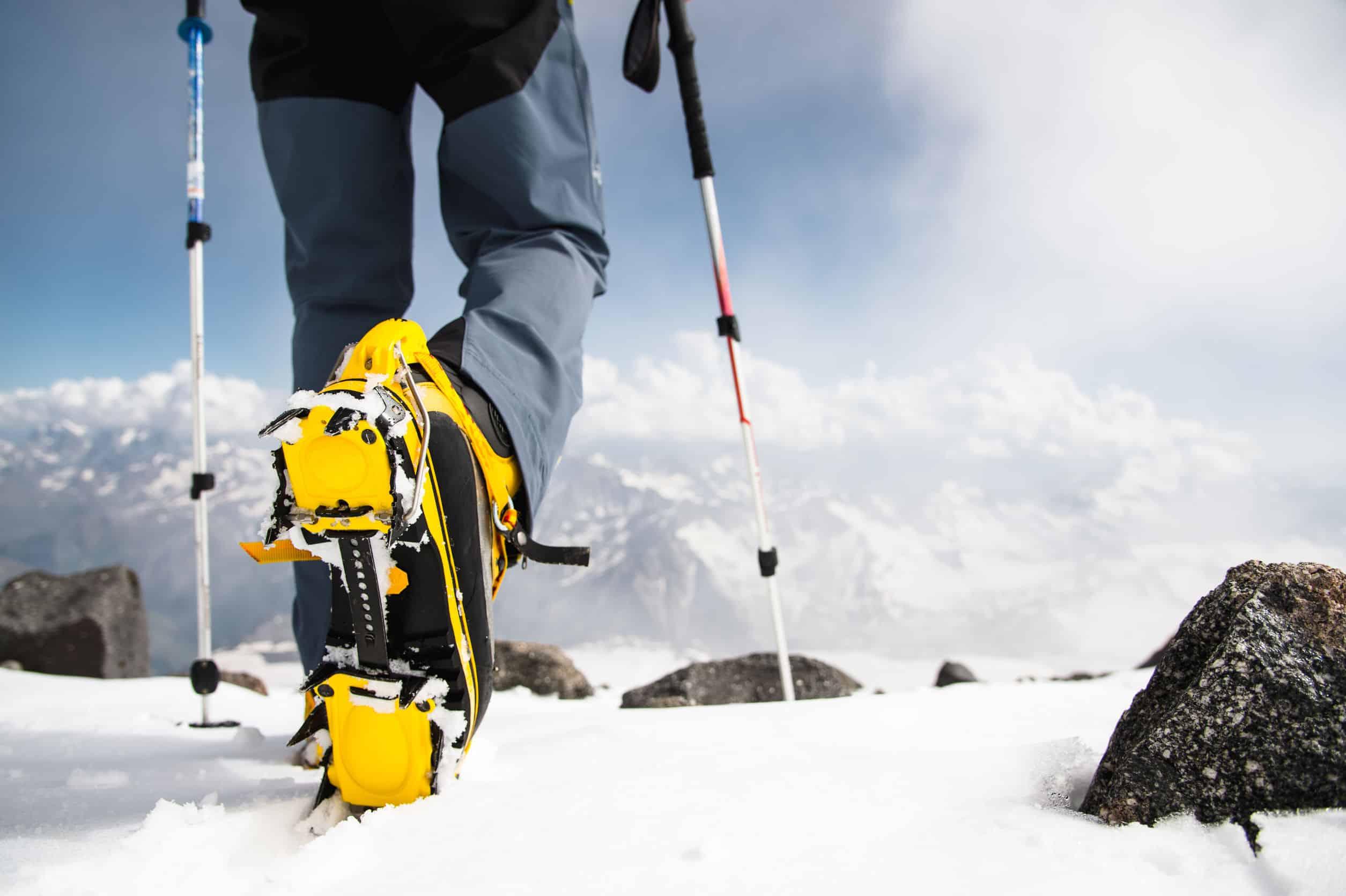 Ramponi sulla neve