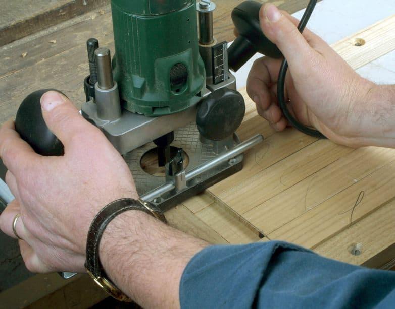 Fresatrice per legno in dettaglio