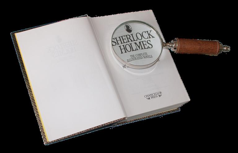 Un libro su sherlock holmes