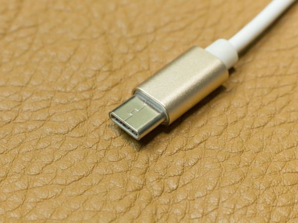 The cable usb type c it connection device close up image.