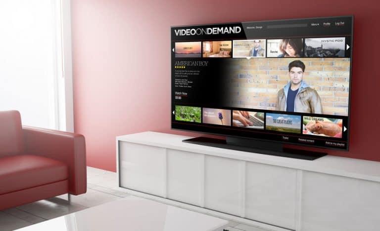 Tv in primo piano