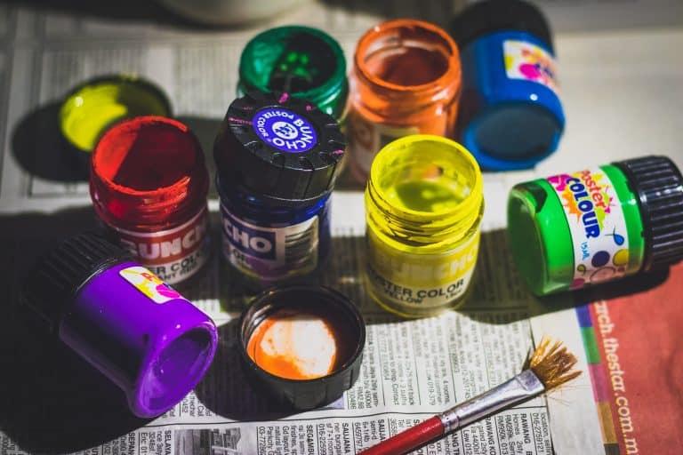 Vari colori per tessuti