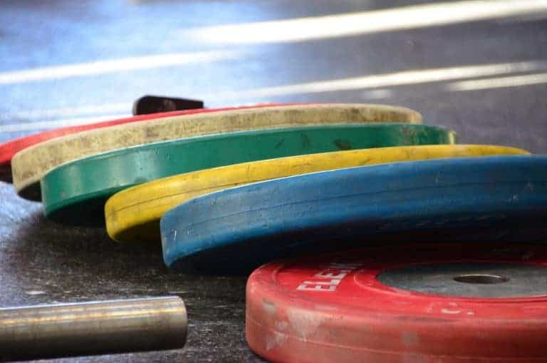 Dischi per peso colorati