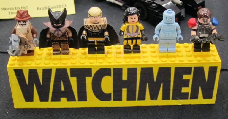 Lego che riproduce watchmen