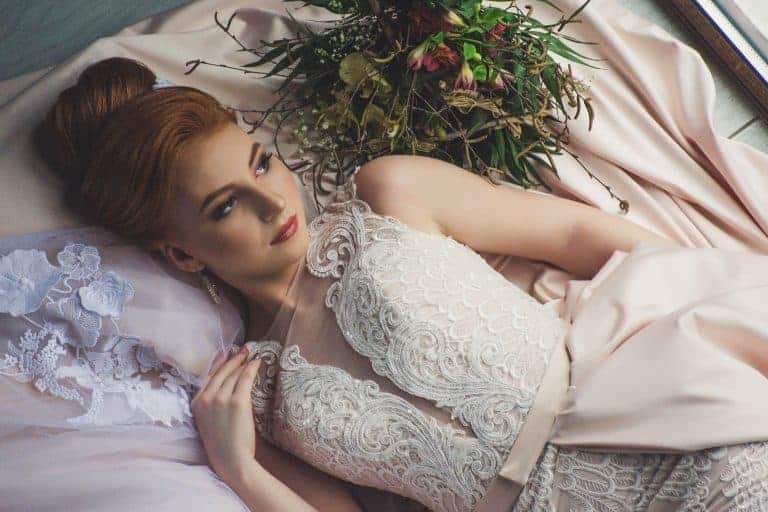 Sposa sul letto