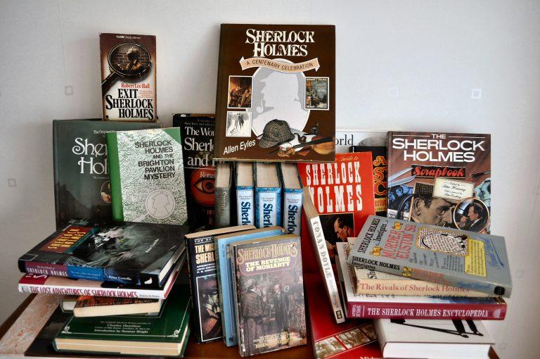 Lotto di libri di Sherlock Holmes