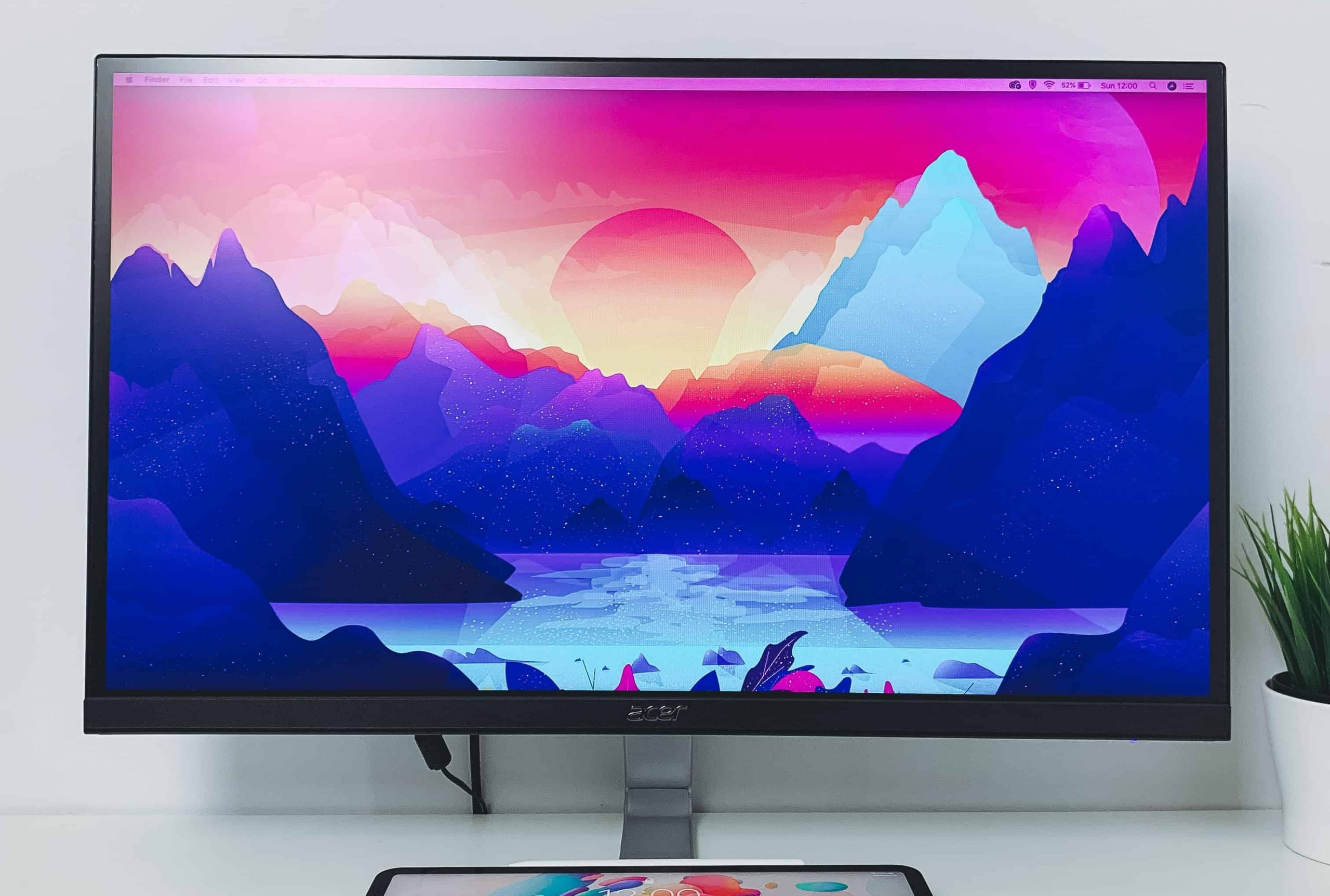 Un monitor LCD