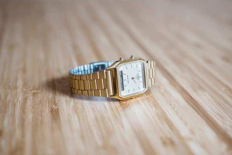 Orologio da donna d'oro
