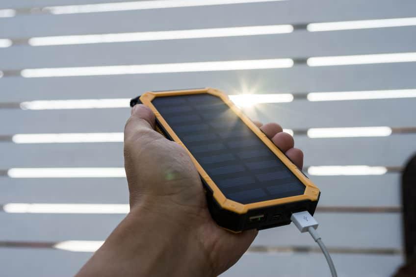Power bank al sole