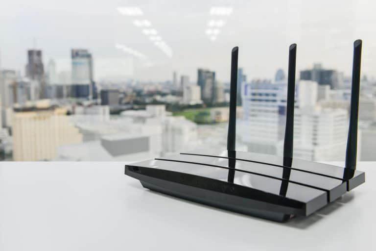 Un router nero