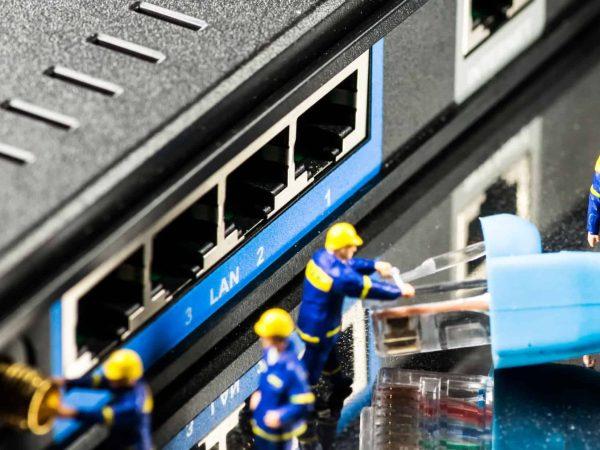 Router 4g dal retro