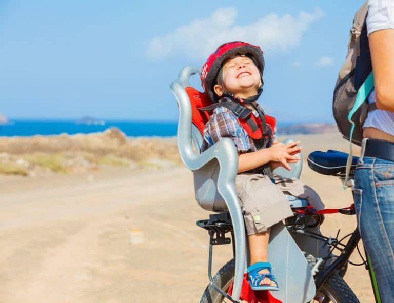Seggiolino per bicicletta posteriore