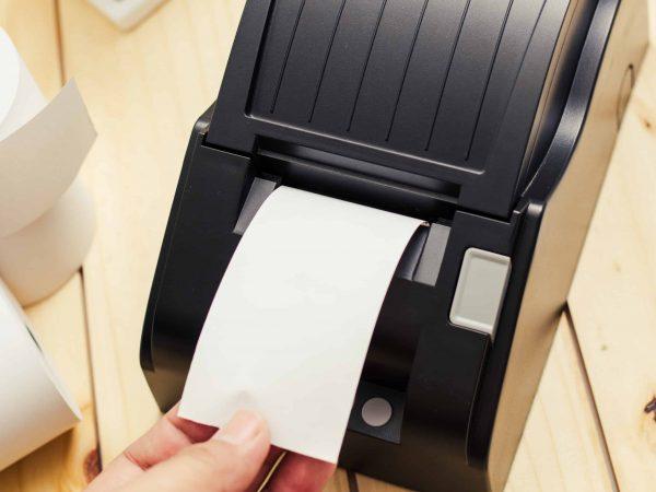Una stampante termica