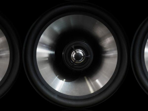 Particolare di una soundbar