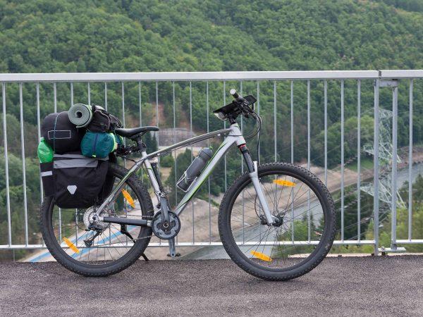 Bicicletta con borse