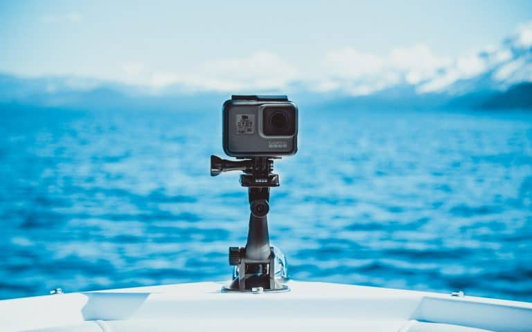 GoPro puntata sul mare