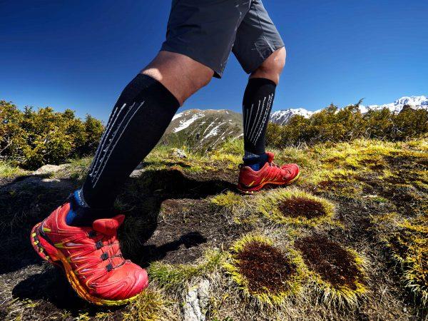 Scarpe da trail rosse