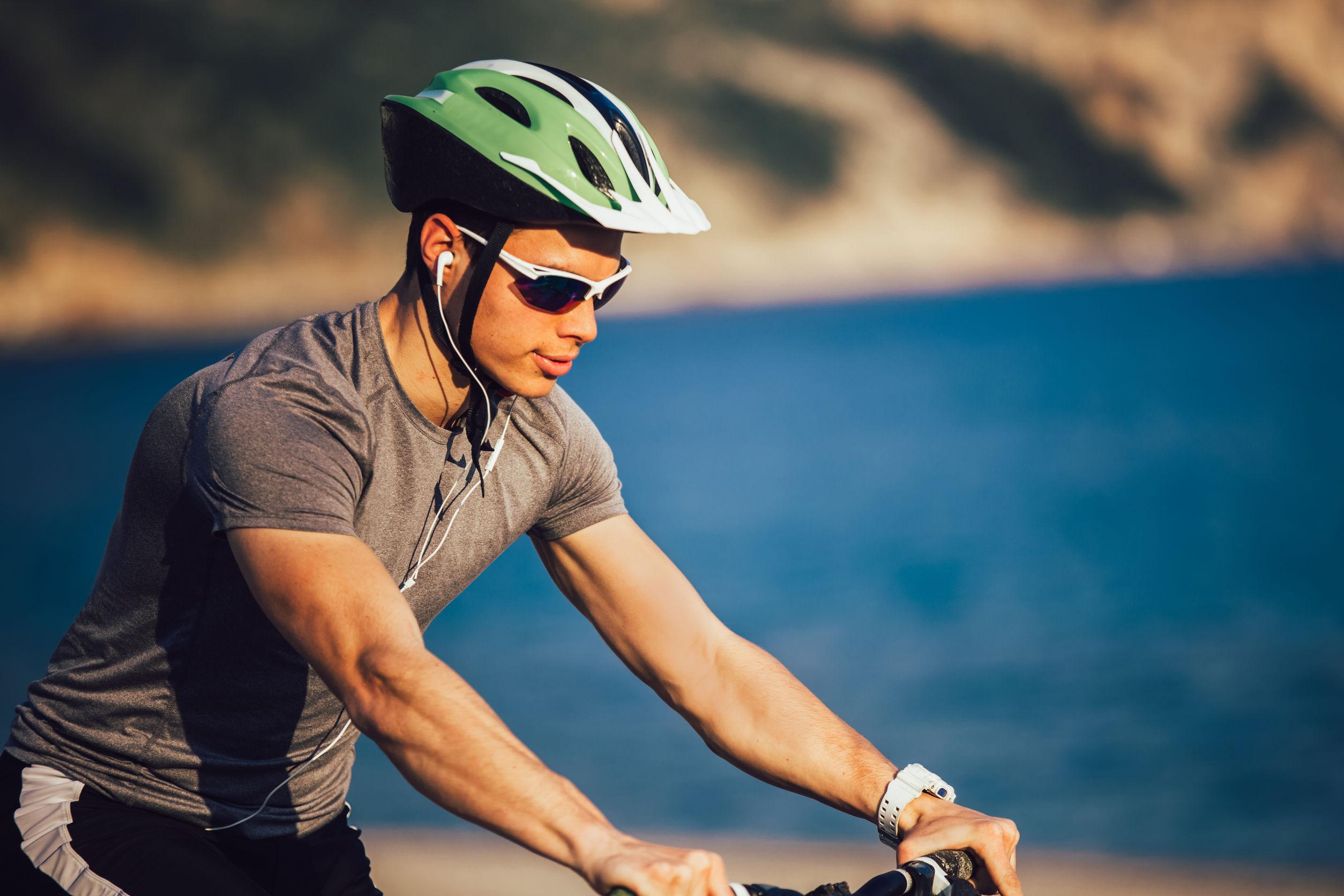 Casco bicicletta