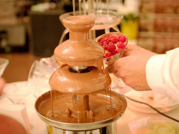 Fontana di cioccolato professionale