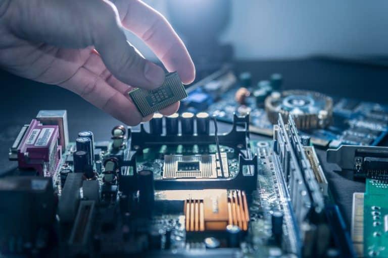 Montaggio di un processore