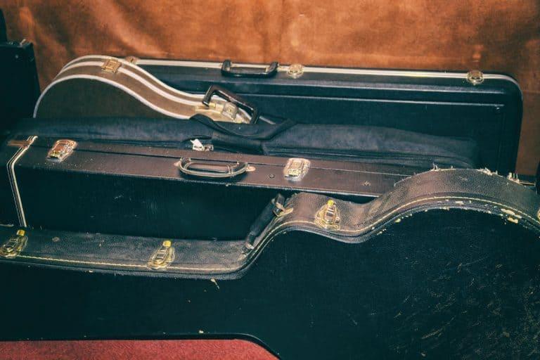 Serie di custodie per chitarra