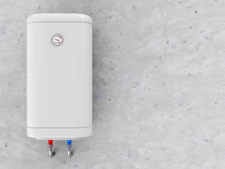 Boiler elettrico bianco