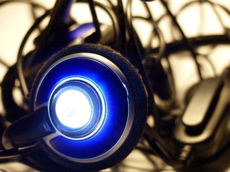 Cuffie da gaming luminose