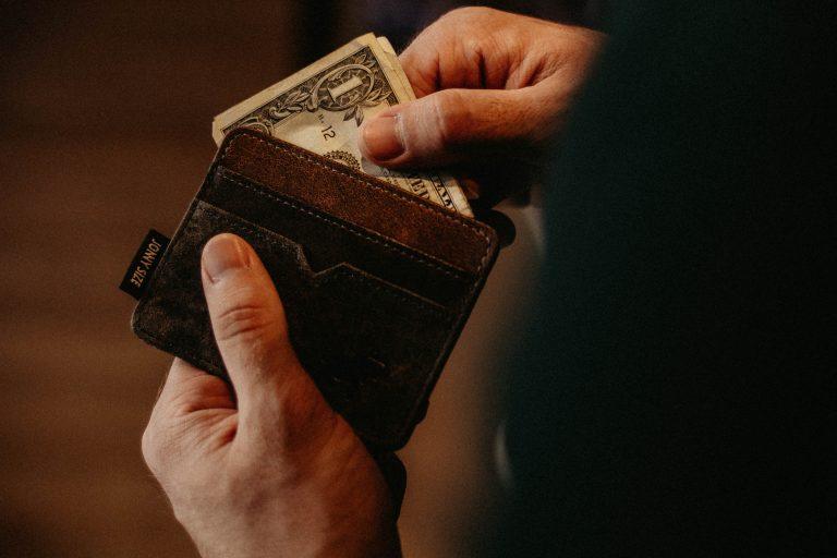 Soldi nel portafoglio