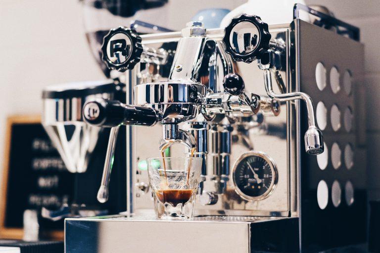 Macchina da caffè espresso vintage