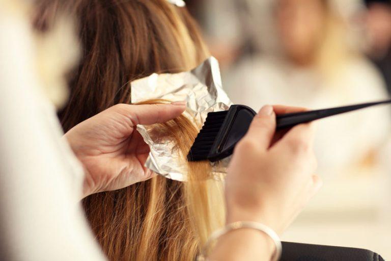Meches dal parrucchiere