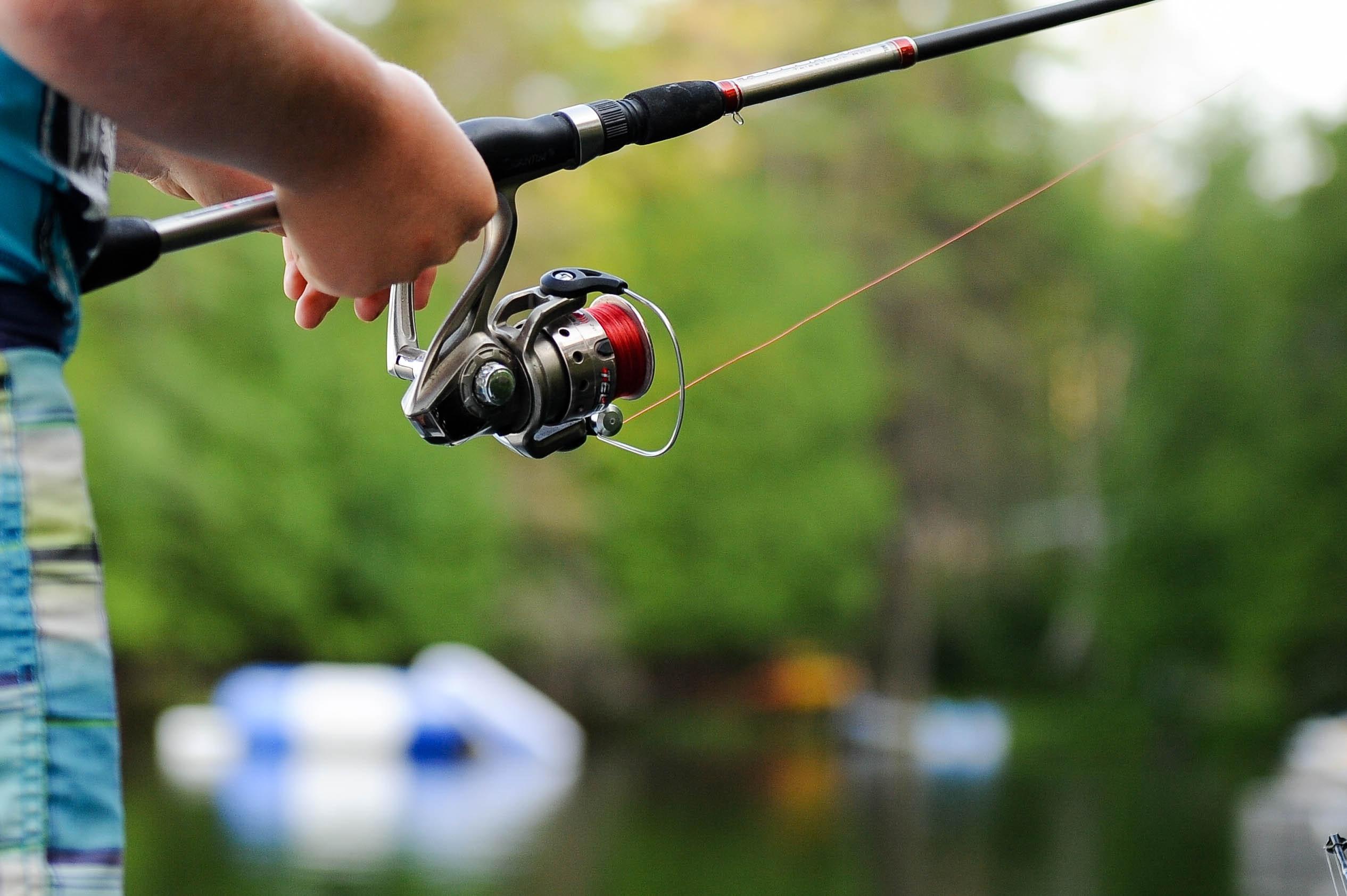 Persona che pesca