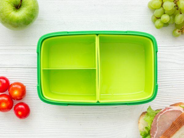 Un pranzo al sacco verde