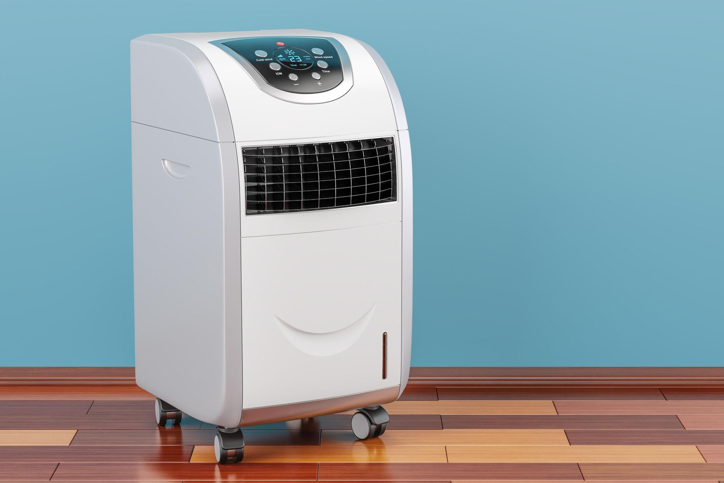 Un climatizzatore portatile
