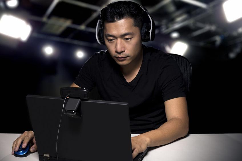 hombre gamer