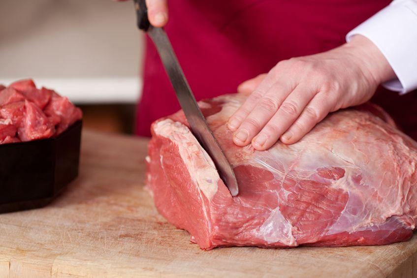Carne da tagliare