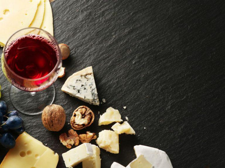 Antipasto con vino