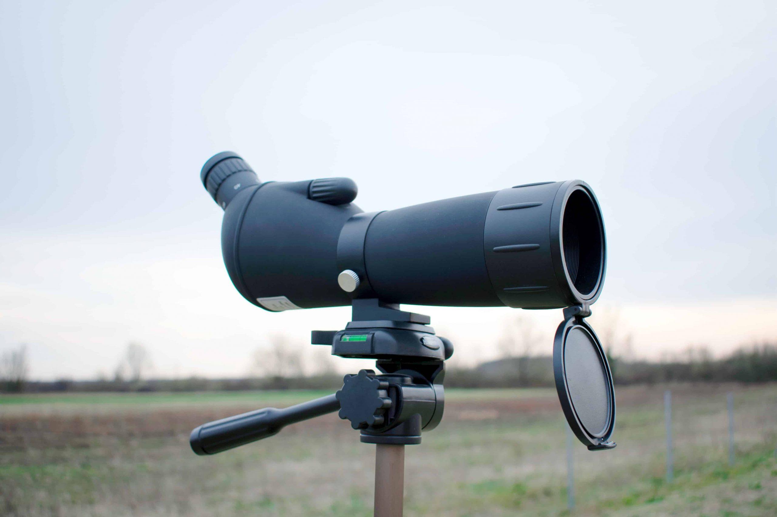 Un telescopio terrestre