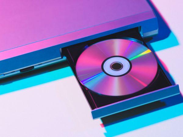 Un lettore DVD