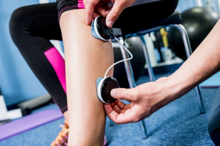 Elettrostimolazione a una gamba