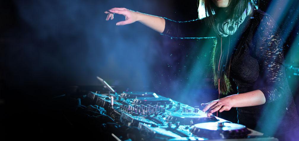 DJ ed effetti scenici