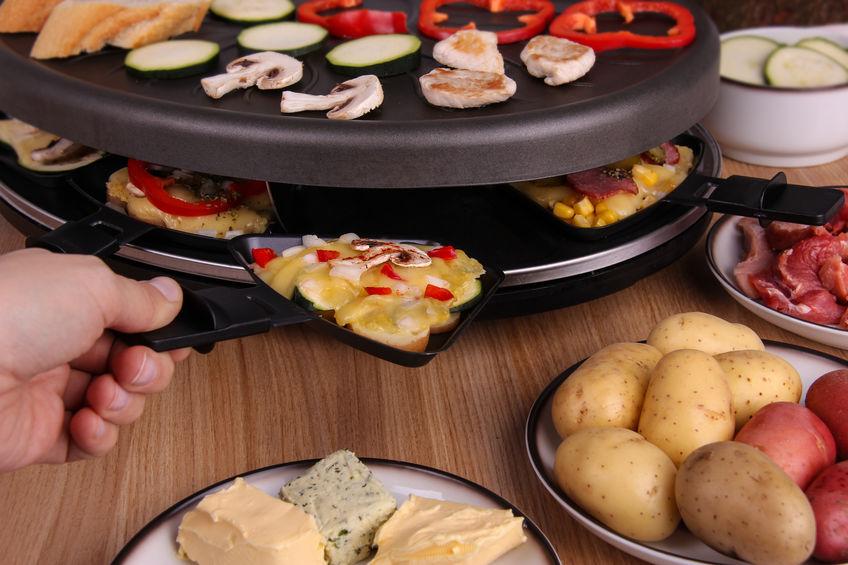 Raclette e padellina