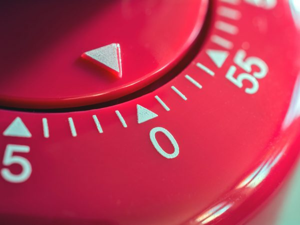 Un timer rosso