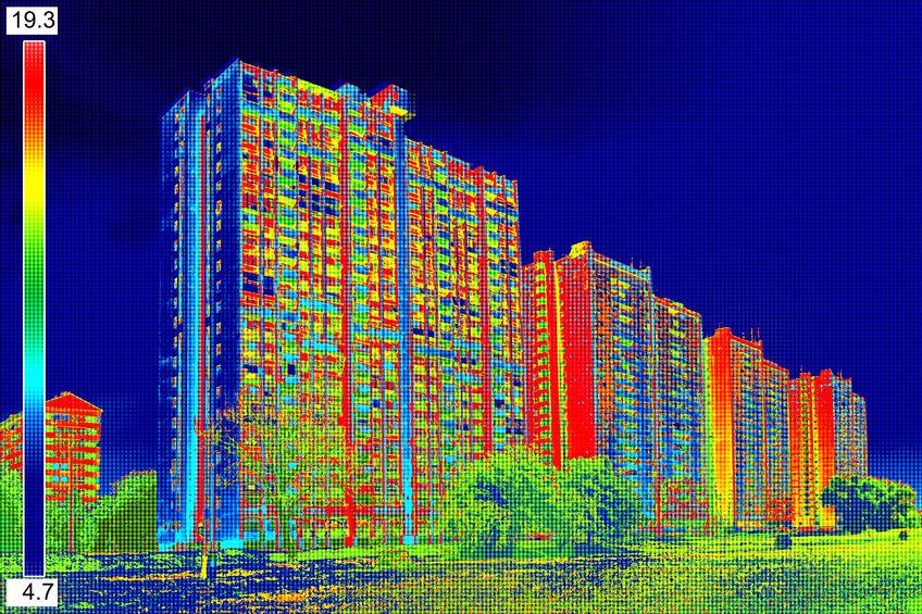 Analisi termica di alcuni edifici