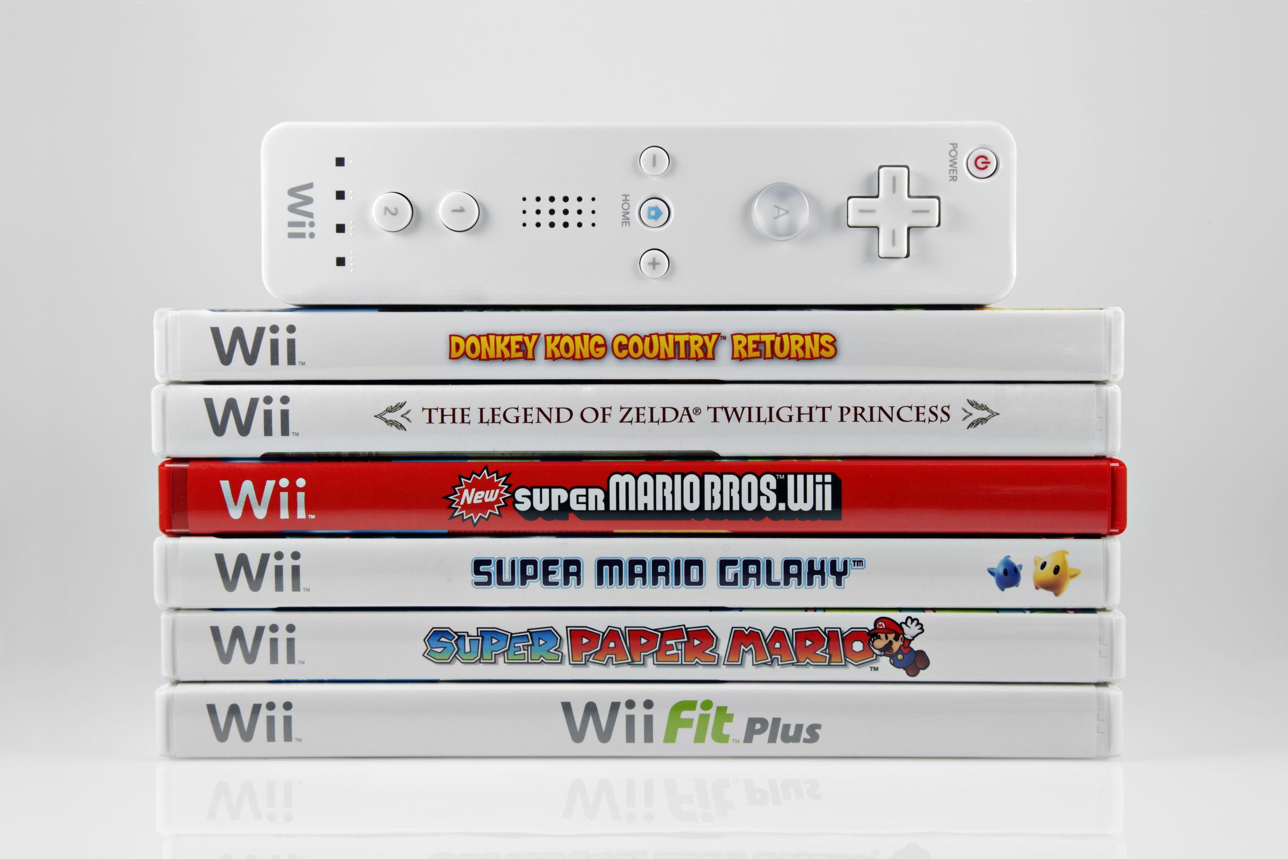 Alcuni giochi per la Wii