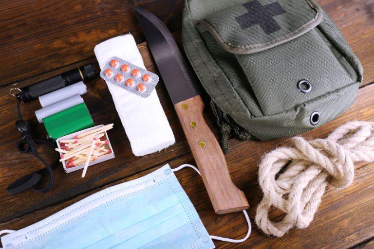 Preparazione di un kit di sopravvivenza