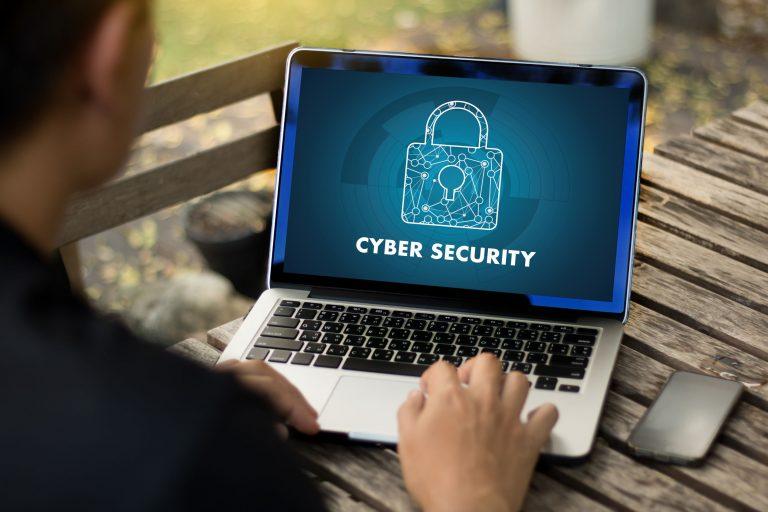 Schermata ciber sicurity