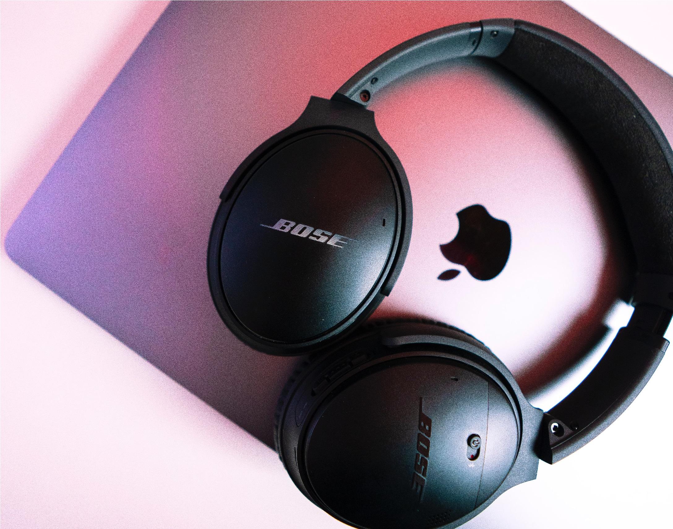 Cuffie Bose su PC Apple