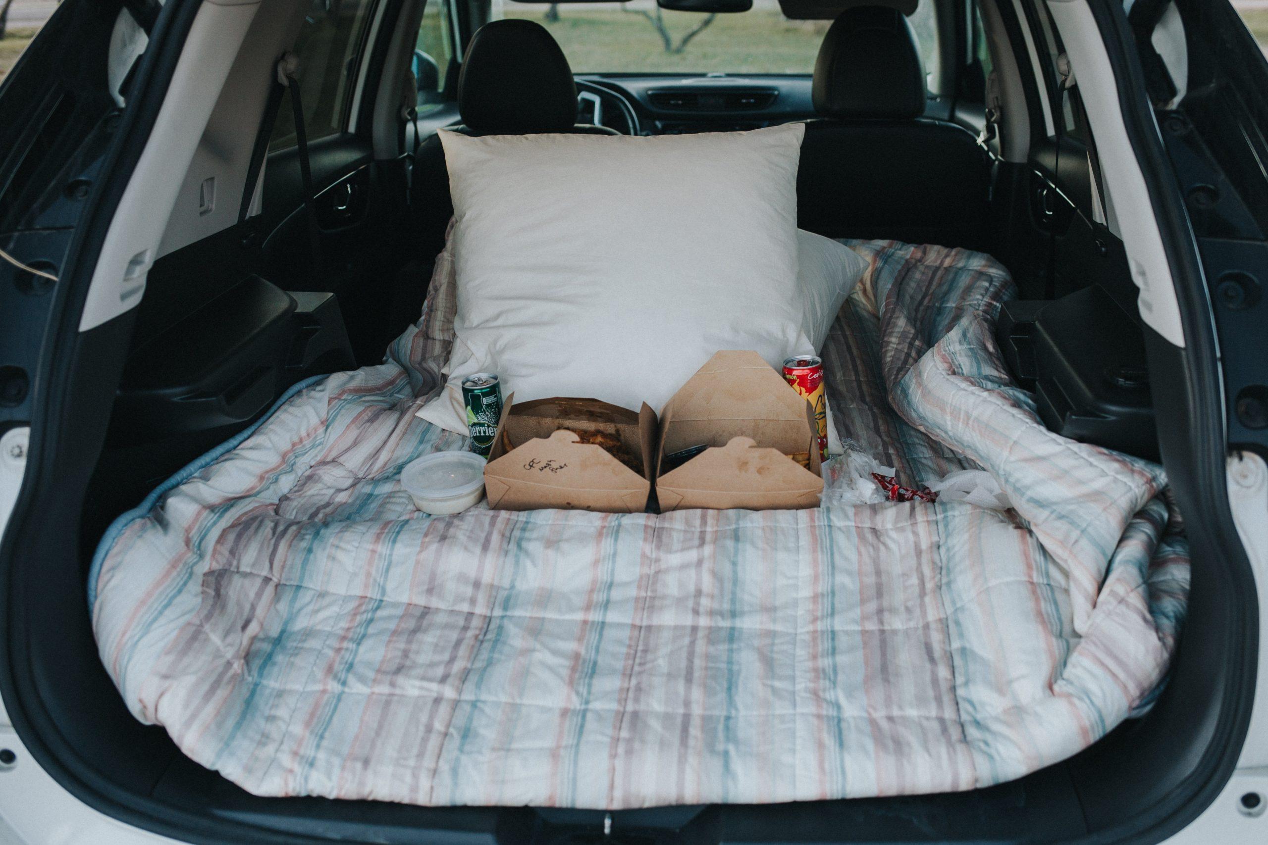 colchón para auto